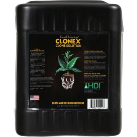 Growth Technology Clonex Clone Solution Clone and Seedling Nutrient 2.5 gal.