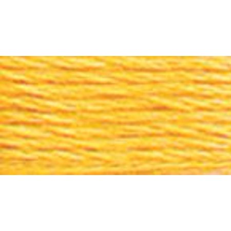 DMC 6-Strand Embroidery Cotton 8.7yd-Medium Yellow - image 1 of 1