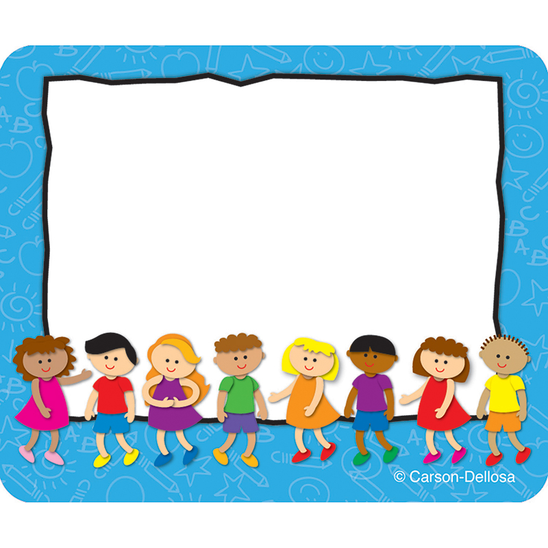(6 Pk) Kids Name Tags