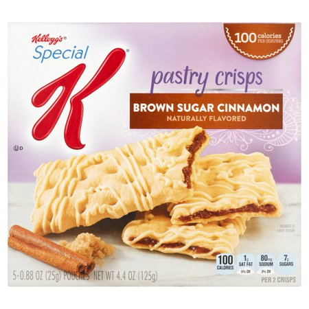 Kellogg's Special K Brown Sugar Cinnamon Pastry Crisps, 0.88 oz, 5 count
