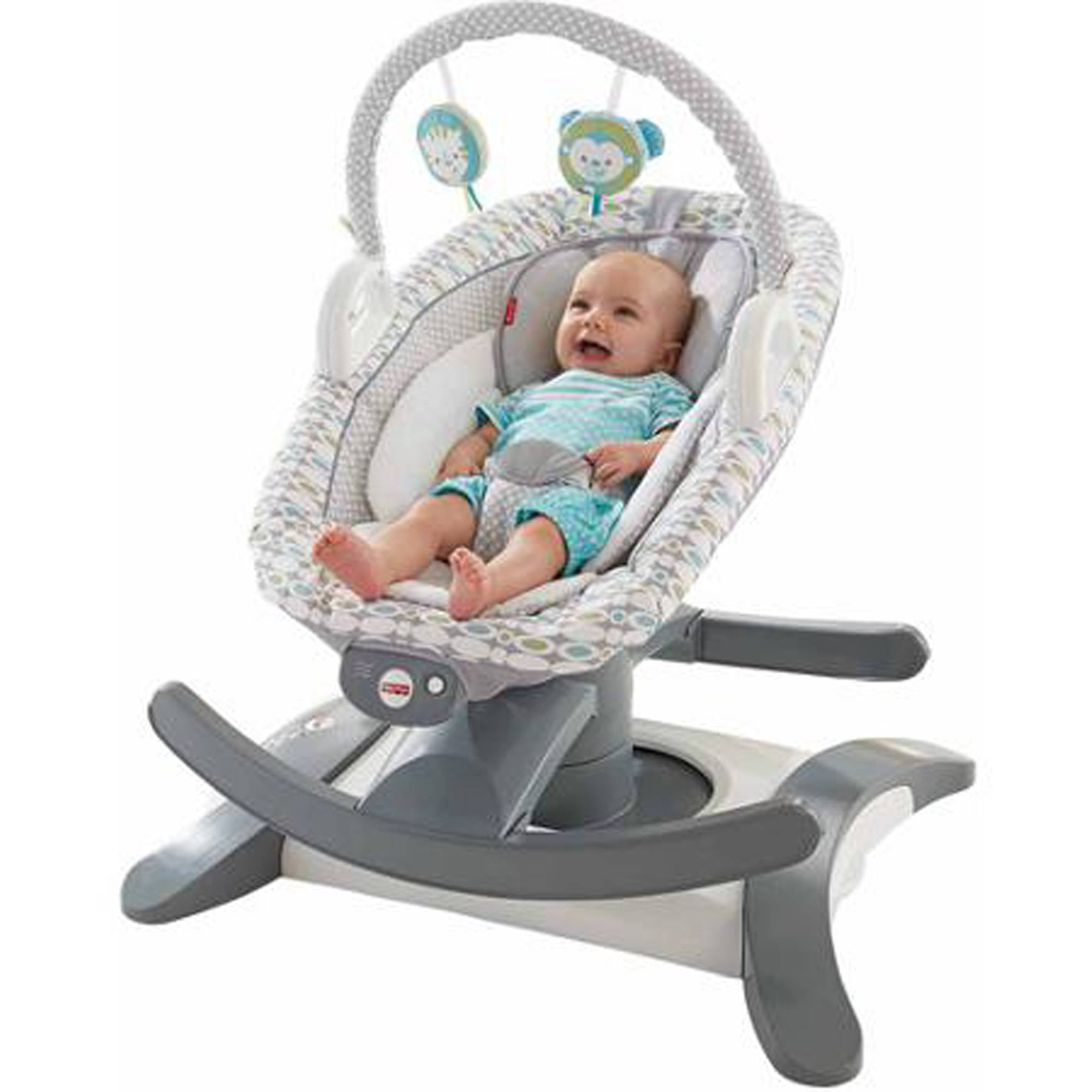 Portable Toddler Vibrating Musical Bouncy Swing Baby Soothing Rocker Chair Toys