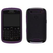 BlackBerry Curve 9350/9360/9370 Premium Skin - Black with Purple