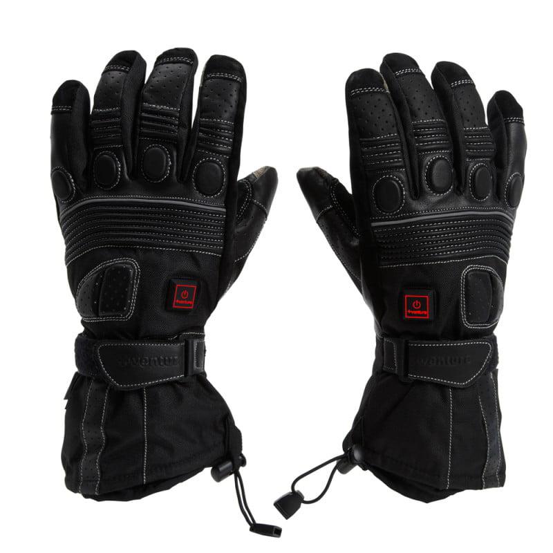 Rebelhorn Leather Gloves Patrol Long Black L
