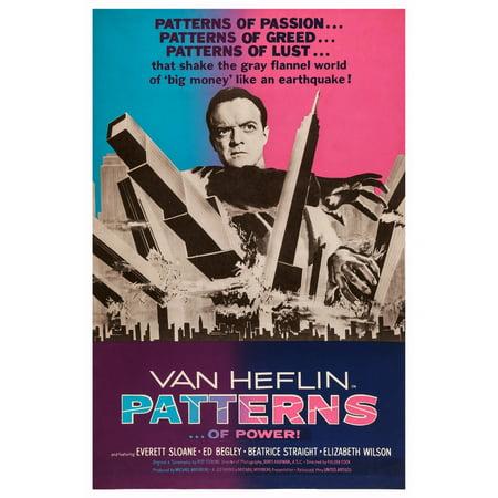 1956 Pattern (Patterns Us Poster Art Van Heflin 1956 Movie Poster Masterprint)