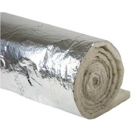 Residential Duct (Johns Manville 670378 Duct Insulation,1-1/2In X 48In X 25Ft )