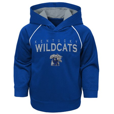 Youth Royal Kentucky Wildcats Fleece Pullover Hoodie