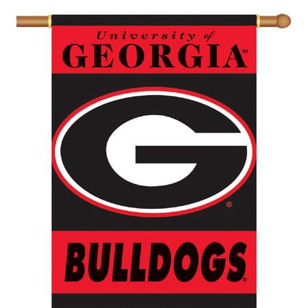 University of Georgia Bulldogs 2-Sided House Flag/Banner