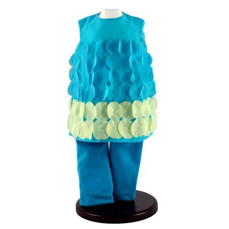 18 Inch Doll Clothes Outfit, Teal & Turquoise Legging Pants And Top Clothing Set