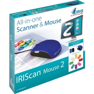 IRISCAN MOUSE 2 ALL-IN-ONE FULL-SCANNER AND MOUSE