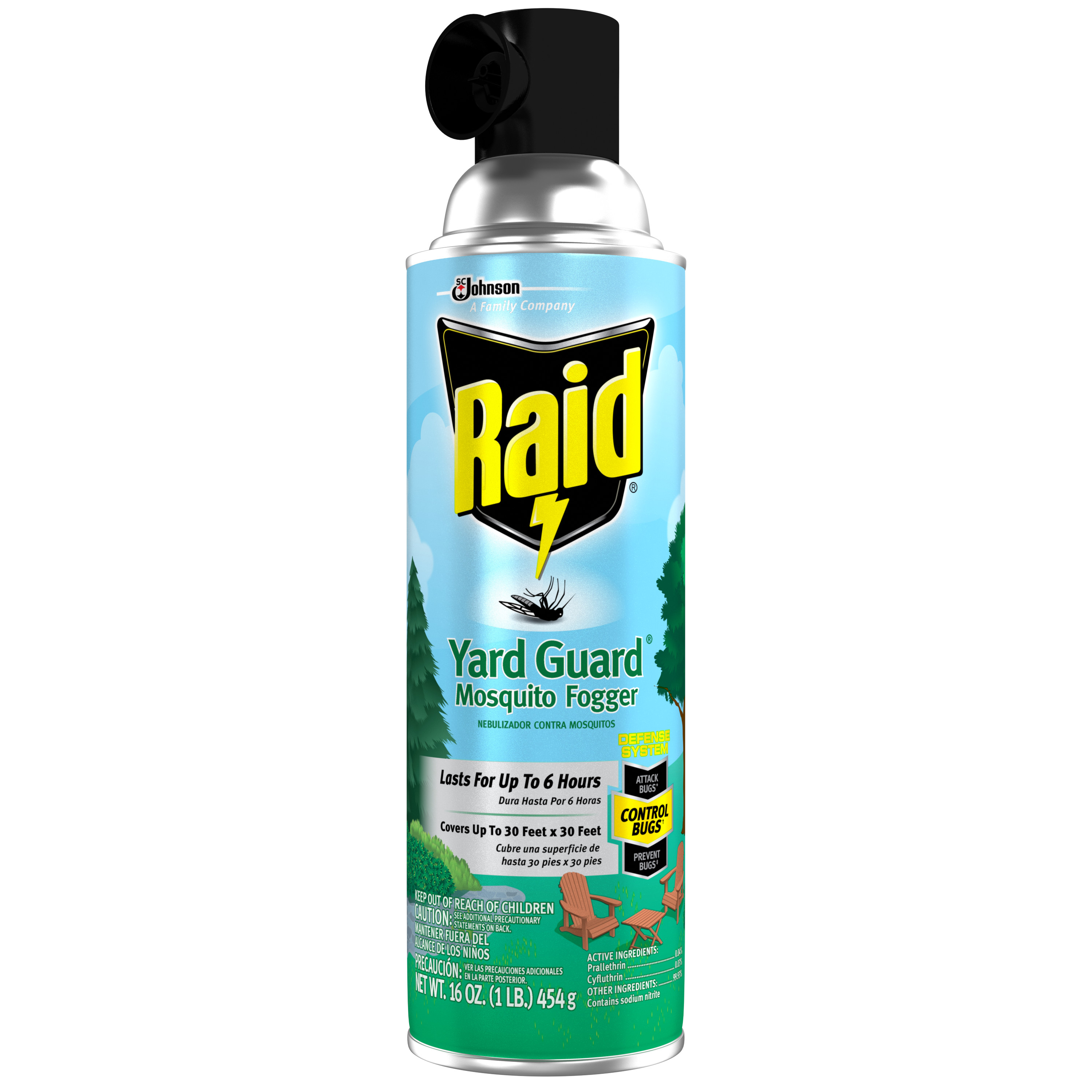 Raid Yard Guard Mosquito Fogger 16 Ounces