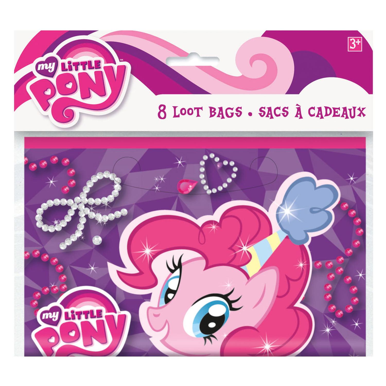 My Little Pony Goodie Bags, 8ct - Walmart.com