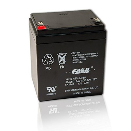 casil genuine ca1240 12v 4ah sla alarm battery. Black Bedroom Furniture Sets. Home Design Ideas