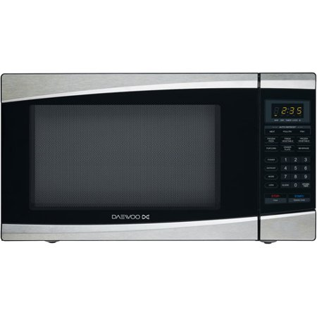 Daewoo 1.3 cu ft Microwave Oven, Stainless Steel