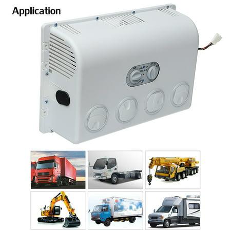 12V / 24V Car Air Conditioner Kit Evaporator Cooling Fan ABS For Car  Caravan Truck