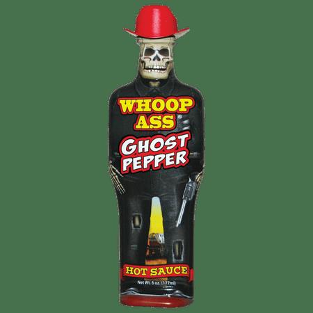 Whoop Ass Ghost Pepper Hot Sauce (Whoop Ass Chipotle)