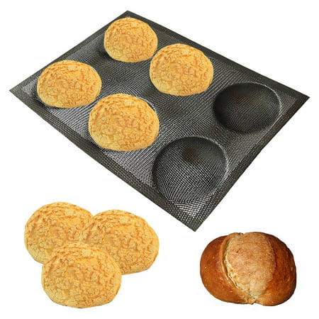 Silicone Bread Mold Non-stick Food Grade Breathable Reuseable Kitchen Bakery Mold - image 1 de 9