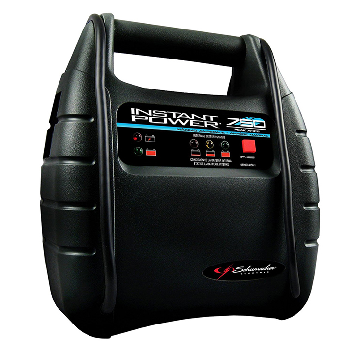 Schumacher Electric IP125 Schumacher Instant Power Jump Starter 750 Peak Amps W/12ah Battery