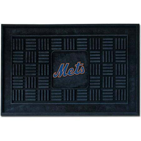 FanMats MLB New York Mets Medallion Door (Fanmats Nba Starter Mats)