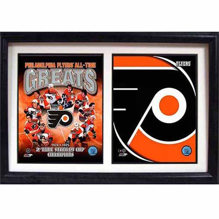 NHL Philadelphia Flyers Greats 12x18 Double Frame (Fuser Frame)