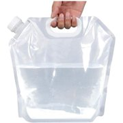 10 litres Collapsible Water Container, BPA Free Plastic Water Carrier, Outdoor Folding Water Bag for Sport Camping Riding Mountaineer