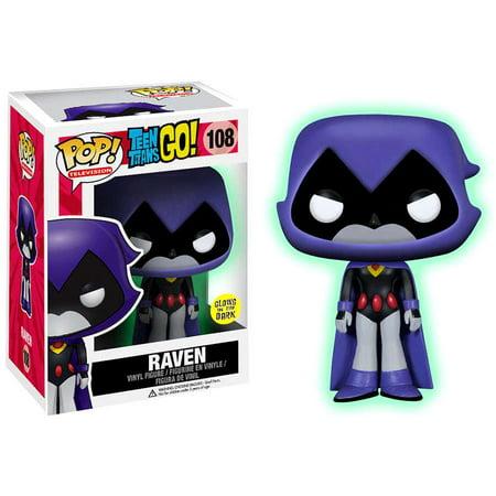 Teen Titans Funko POP! Television Raven Vinyl Figure [Glow-in-the-Dark]