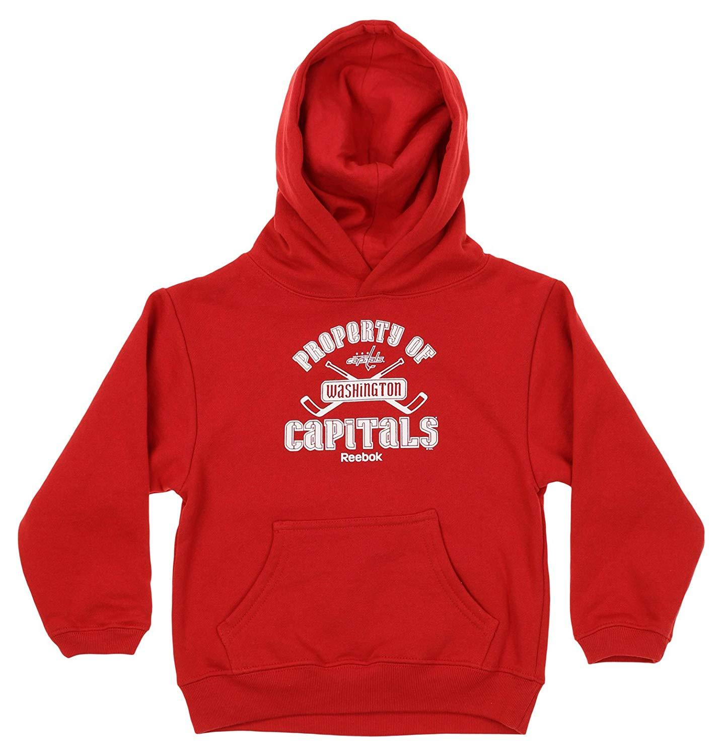 Reebok NHL Youth Washington Capitals Performance Logo Hoodie
