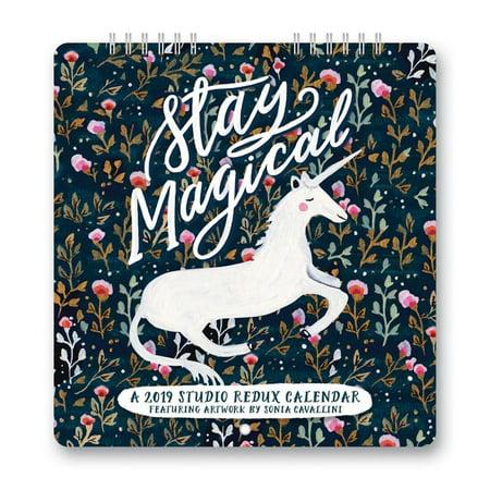 2019 Stay Magical Mini Wall Calendar, by Orange Circle Studios Corporation (Studio 18 Calendars)