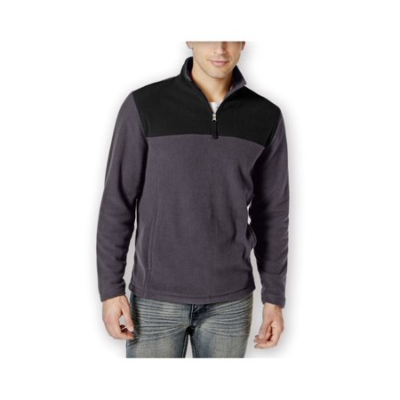 6a932233f Club Room Mens Quarter-Zip Fleece Jacket nineiron Big 2X - Big & Tall