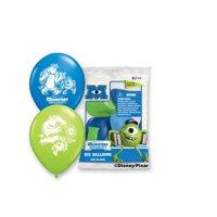 "Party Supplies - Pioneer Latex Balloons 6 ct 12"" Disney Pixar Monsters 41901"