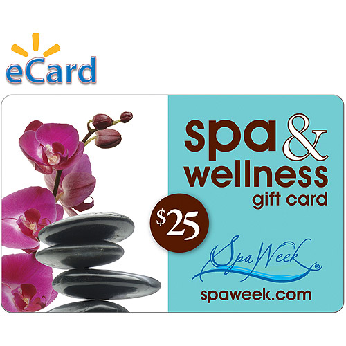 Spa and Wellness Gift Card by Spa Week $25 (Email Delivery)