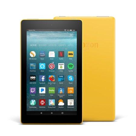 Fire7 Tablet Alexa 7In Display 16Gb Yel