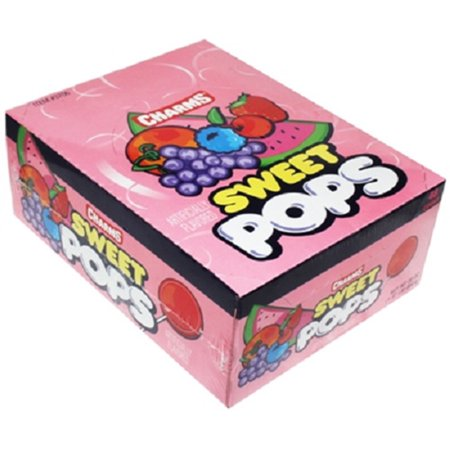 Product Of Charms, Sweet Pops, Count 48 - Sugar Candy / Grab Varieties & Flavors - Charms Candy