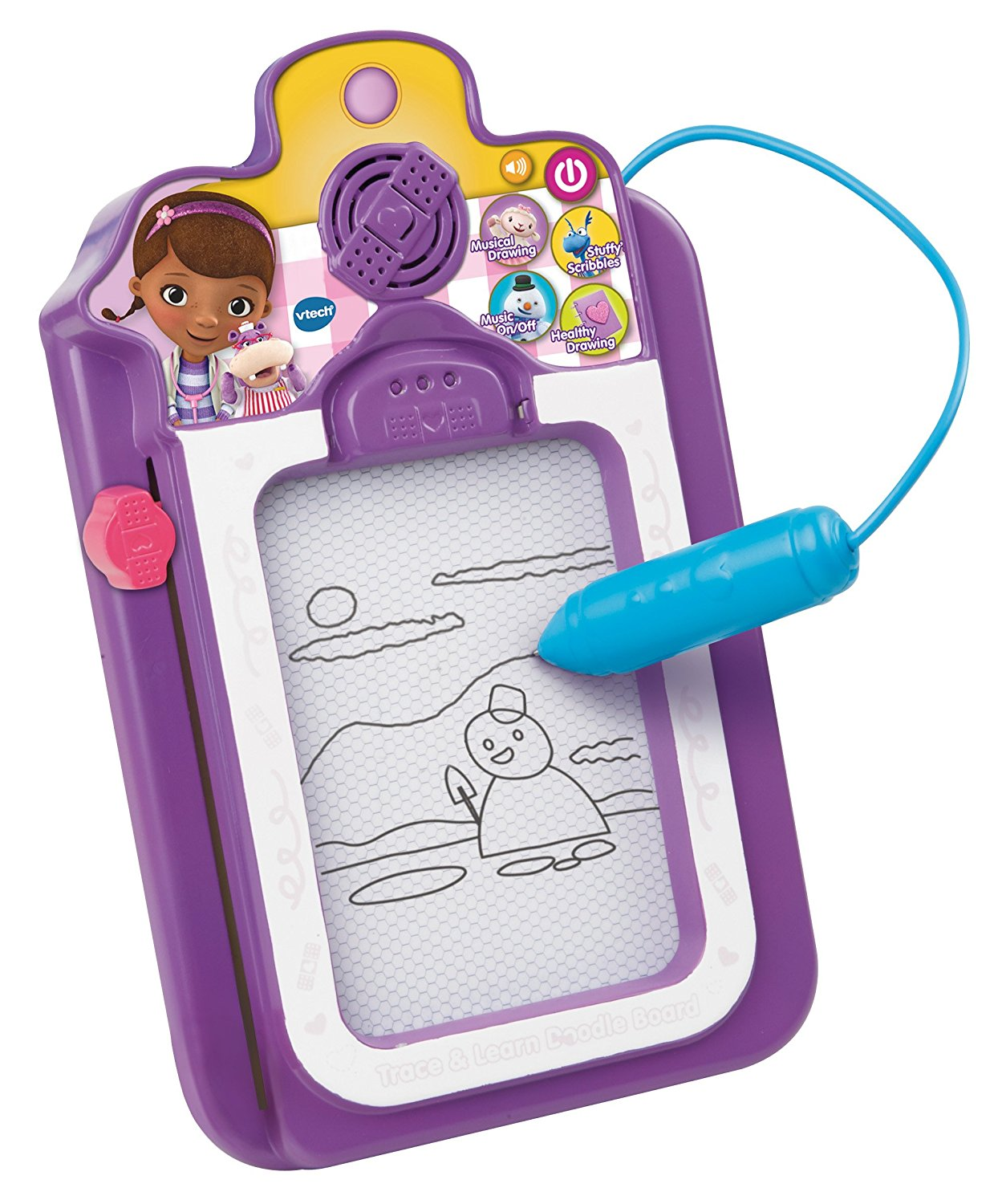 Doc McStuffins Talk and Trace Clipboard Toy, USA, Brand VTech by