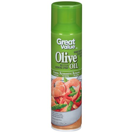 - (3 Pack) Great Value Olive Oil Cooking Spray, 7 ounces