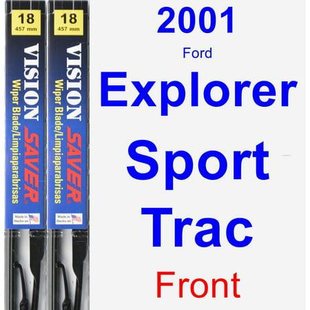 2001 Ford Explorer Sport Trac Wiper Blade Set/Kit (Front) (2 Blades) - Vision