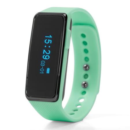 Nuband Activ+ Activity Tracker Watch, Light Green