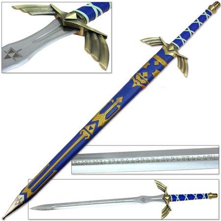 Legend of Zelda FULL TANG Master Sword Skyward Limited Edition Deluxe Replica - Zelda Master Sword