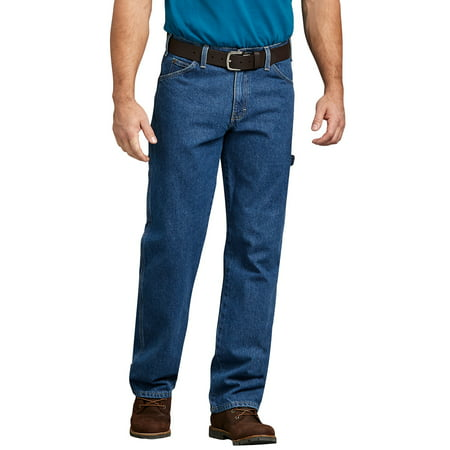 Stonewashed Jeans - Men's 5-Pocket Professional Grade Utility Jeans