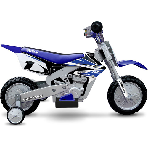 Yamaha 6-Volt Motorcycle, Blue