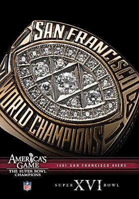 NFL America's Game: San Francisco 49ers Super Bowl XVI (DVD) by Allied Vaughn