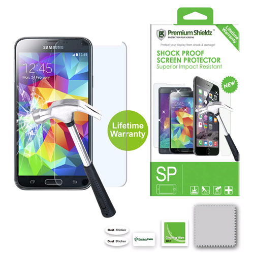 Premium Shieldz ShockProof Screen Protector for Samsung Galaxy S5