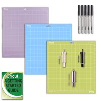 Cricut Maker/Explore Air 2 Blade Accessories Kit: (3) GripMats & Pen Set Bundle