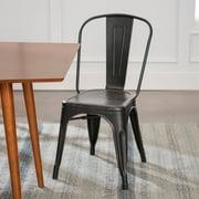 Quinn Antique Black Café Chair by River Street Designs