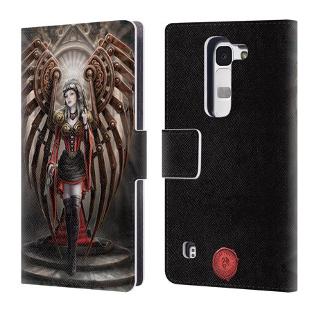 OFFICIAL ANNE STOKES STEAMPUNK LEATHER BOOK WALLET CASE COVER FOR LG PHONES 2