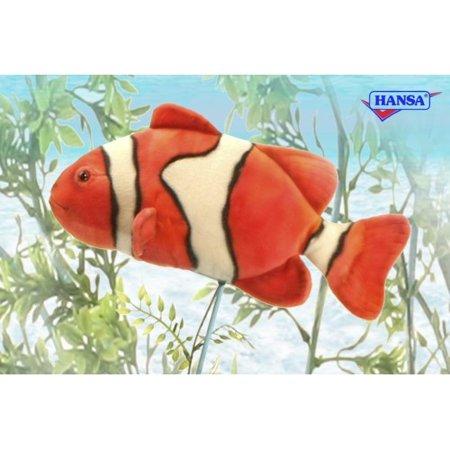 Hansa Plush Clown Fish, 12.5