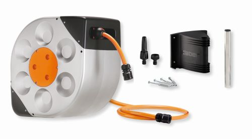 Rotoroll Automatic Wall Mount Hose Reel with 66-Feet of 1 2-Inch Hose by