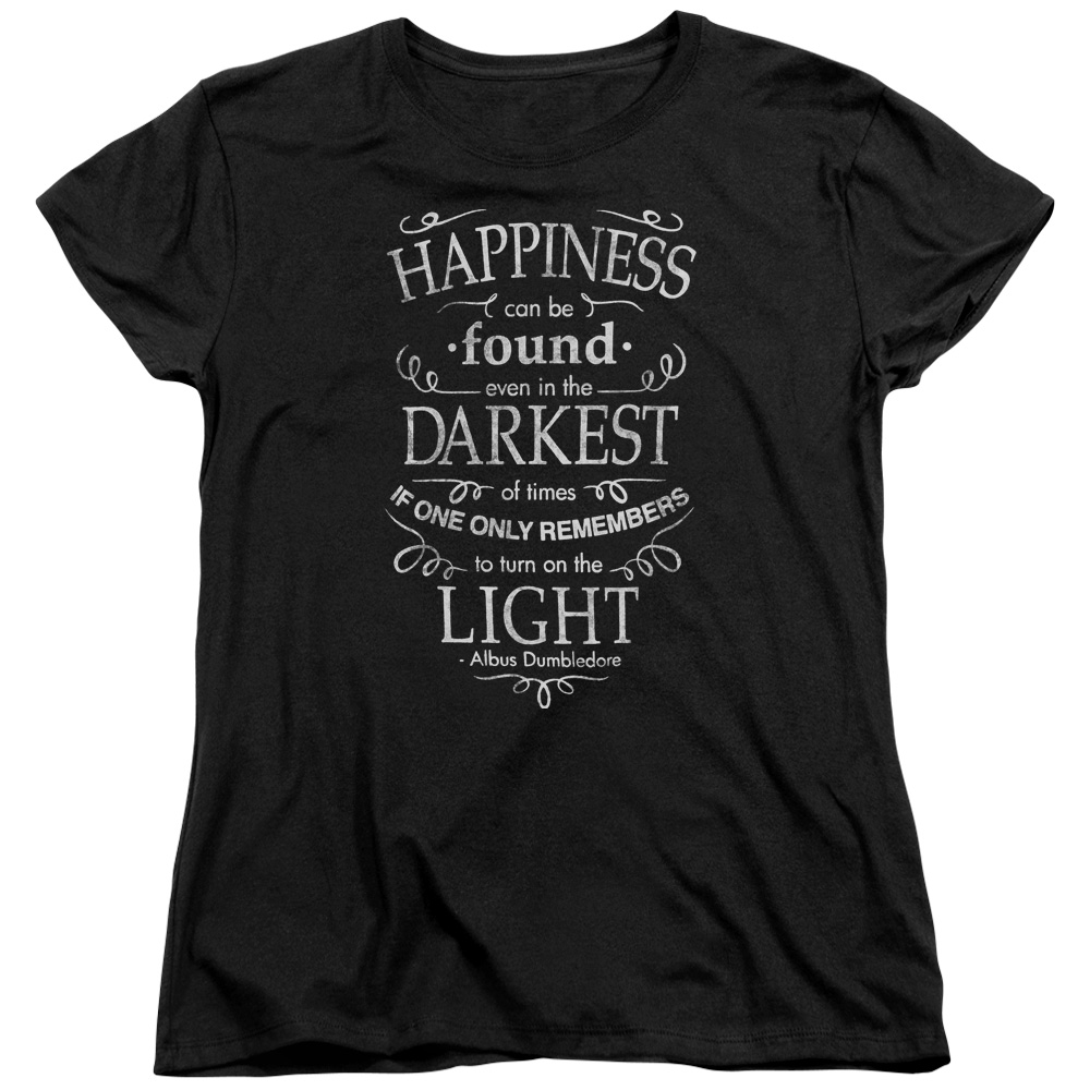 Harry Potter Happiness Womens Short Sleeve Shirt