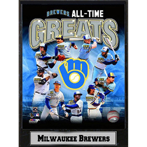 MLB Milwaukee Brewers Photo Plaque, 9x12