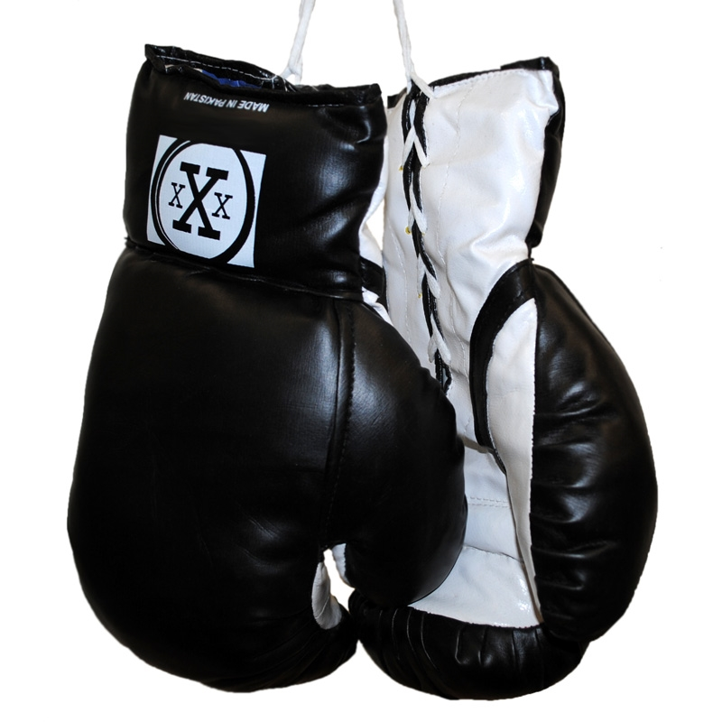 Triple Threat Boxing Punching Fighter Gloves -  Fitness Training - Black - Child Size
