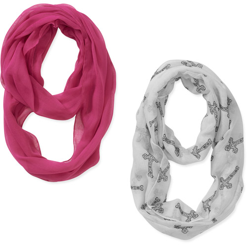 White Cross 2pack Scarves